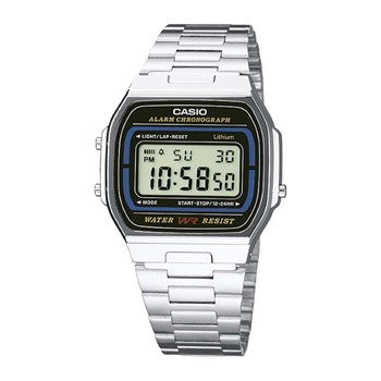 Montre digitale - argent