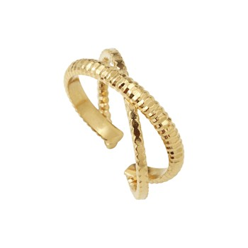 Bague Ajustable - Bagues & Bangles - or