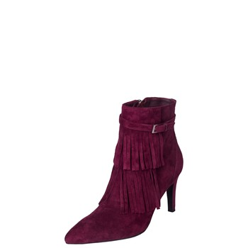Ella Anita - Bottines en cuir - bordeaux