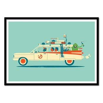 Wall Editions - Ghostbusters - Affiche - multicolore