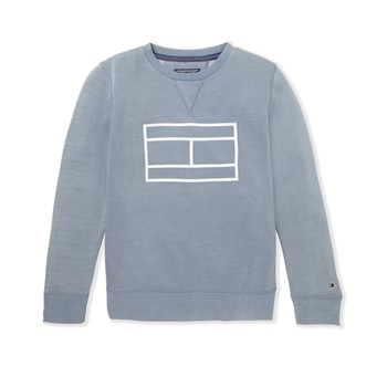 Flag CN - Sweat-shirt - bleu brut