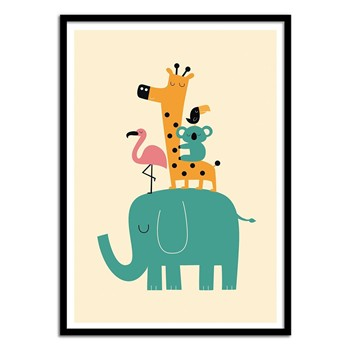 Wall Editions - Bébés Animaux - Affiche art 50x70 cm