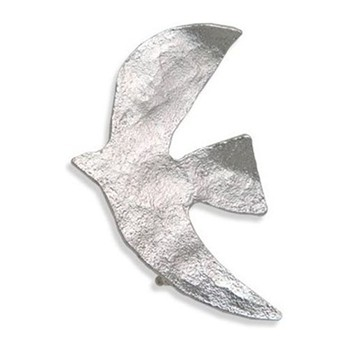 Colombe - Broche - argent