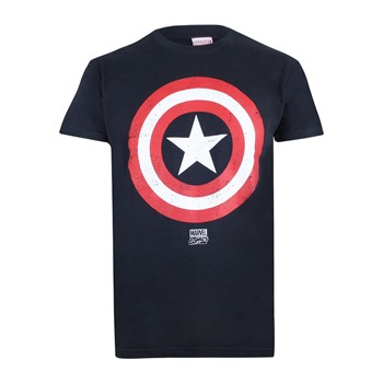 Cpt. Shield - Kurzärmeliges T-Shirt - marineblau
