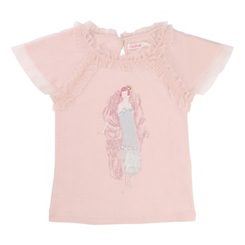 T-shirt manches courtes - rose