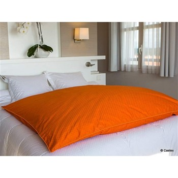 Housse d'édredon 124 fils/cm² - orange