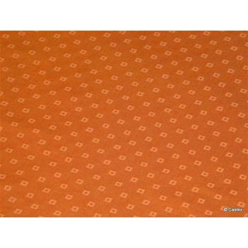 Drap housse 124 fils/cm² - orange