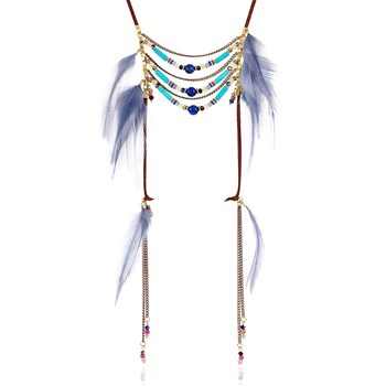 Indian Summer - Collier - bleu