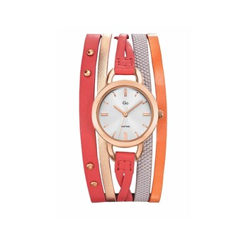 Go Girl Only - Montre en cuir - orange