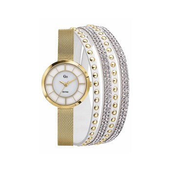 Go Girl Only - Montre analogique - jaune