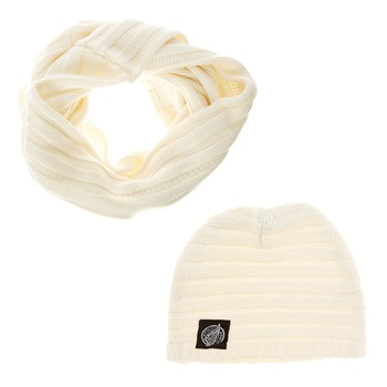 Hope N Life - Iakari-D - Ensemble bonnet et snood - ecru