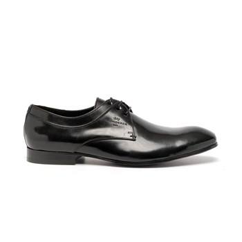Getty - Derbies en cuir - noir