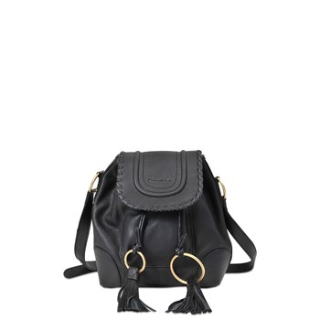 See by Chloé - Polly - Sac à main en cuir - noir