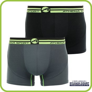 Running - Lot de 2 boxers - multicolore