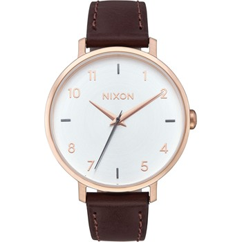 Arrow - Montre analogique en cuir - marron