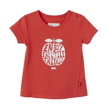 Ana - T-shirt manches courtes - rouge