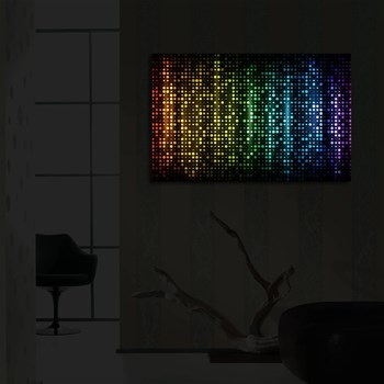 Fantaisie - Quadro a LED - multicolore