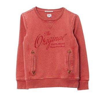 Pepe Jeans London - samuel - Sweat-shirt - rouge
