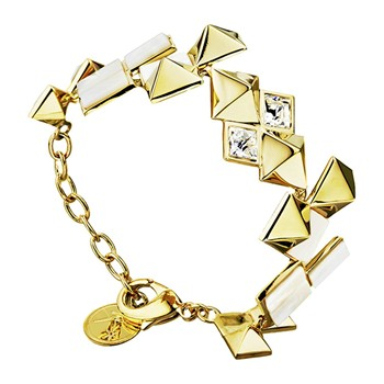 Alligator - Armband - goldfarben