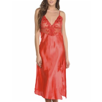 Charnelle - Nuit - Nuisette - rouge