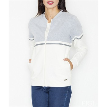 Sweat-shirt - ecru
