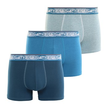 Authentic - Lot de 3 boxers - bleu
