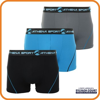 Training - Lot de 3 boxers - multicolore