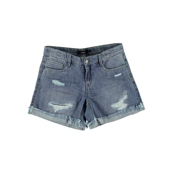 Mini short - denim bleu