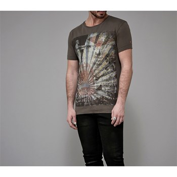 Deepend - T-shirt manches courtes - kaki
