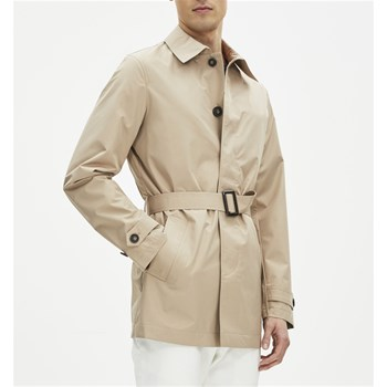 Gutrench2 - Forme trench, imperméable : Trench - beige