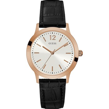 EXCHANGE - MONTRE ANALOGIQUE EN CUIR - BICOLORE Guess