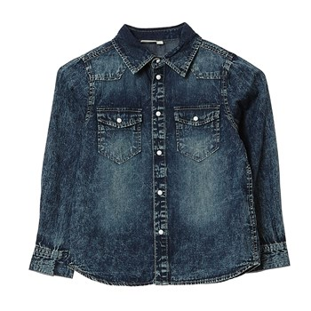 Name It - Camisa - denim azul