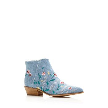 Joanah - Bottines en denim - bleu