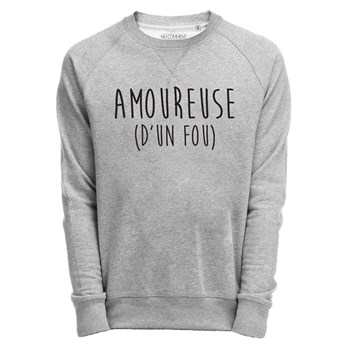 Saint Valentin - Sweat-shirt - gris chine