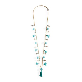 Lila - Collier avec perles - turquoise