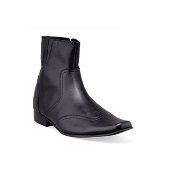 Timothy - Bottines en cuir - noir