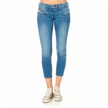 Alexa Cropped - 7/8ème - denim bleu