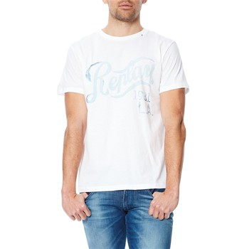 Replay - T-Shirt - Camiseta de manga corta - blanco