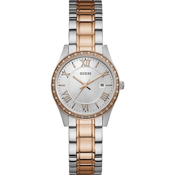 Guess - Greenwich - Montre analogique - bicolore