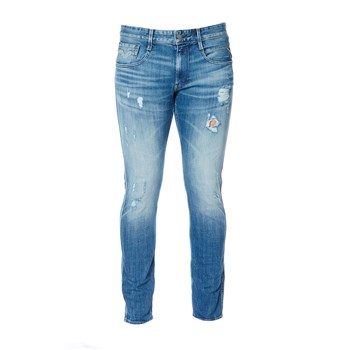 Anbass - Jean regular - denim azul