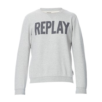 Sweat - Sweatshirt - grau