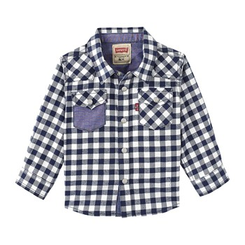 Patchy - Camicia a quadri - blu