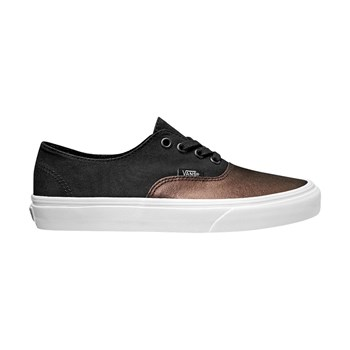UA AUTHENTIC DECON - Baskets en cuir mélangé - noir