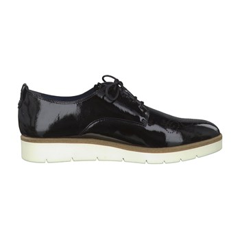 Jetta - Derbies en cuir - denim noir
