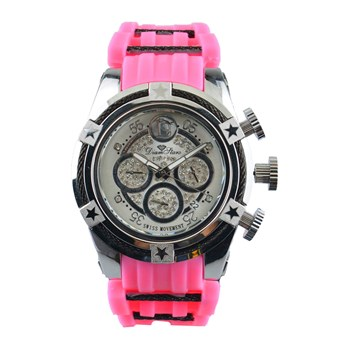 Diamstars - Booster - Orologio con diamanti - rosa