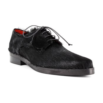 Folio - Derby in pelle - nero