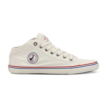 Pepe Jeans Footwear - INDUSTRY ROAD - Baskets Mode - blanc