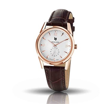 Lip - Montre bracelet en cuir - marron