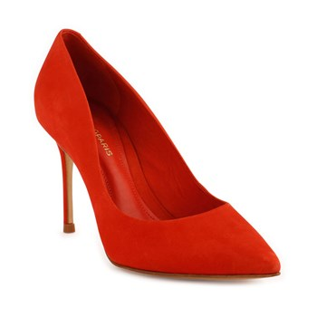 Abelina - Escarpins en cuir - orange