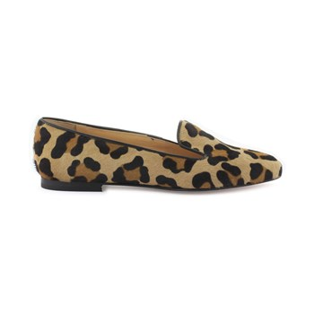 Supper Rouma - Slippers de cuero - estampado